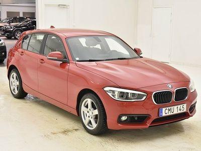 begagnad BMW 118 d 5-door Advantage Euro6 150hk LED Moms