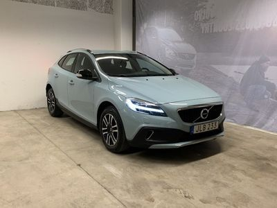 begagnad Volvo V40 CC T3 Edition, ader, On Call, Parkeringssensor Fram Bak, Klimatpaket, Navigation, City Safety 2019, Kombi 219 500 kr