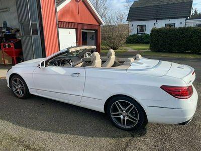 begagnad Mercedes E350 Cabriolet 7G-Tronic Plus 306hk