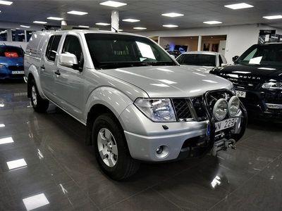 begagnad Nissan Navara Dubbelhytt 2.5 dCi 4x4 Automatisk 2010, Transportbil 119 900 kr