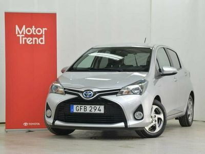 begagnad Toyota Yaris Hybrid 1,5 5-D