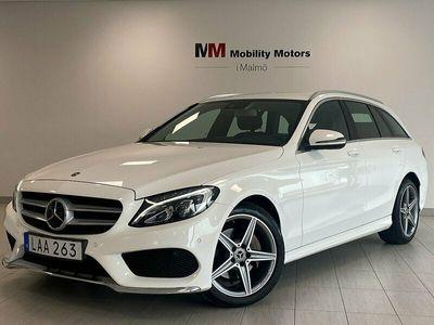 begagnad Mercedes C220 T d 4MATIC 9G-Tronic 170hk 12mån garanti