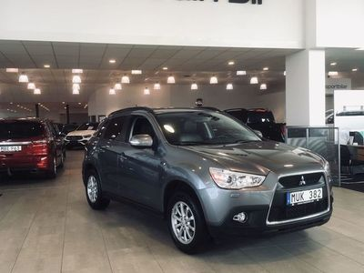 used Mitsubishi ASX 1.8 Di-D Manuell 116 hk Active / dragkrok