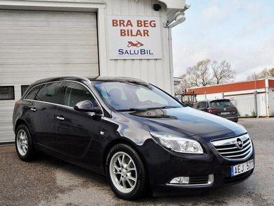 begagnad Opel Insignia 2.0 BiTurbo CDTI 195HK 4x4 Drag Svensksåld