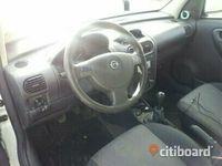 begagnad Opel Combo 1,6 cng