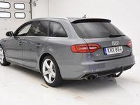 begagnad Audi A4 TDI quattro 150hk S-LINE D-VÄRM SKINN