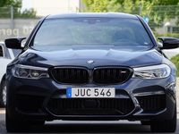 begagnad BMW M5 Competition 625hk B&W Kolfiber Individual