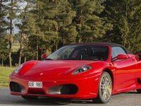 begagnad Ferrari F430 Spider F1 08 2600 mil -08