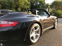 begagnad Porsche 911 Carrera 4 Cabriolet 997 Lågmil -06