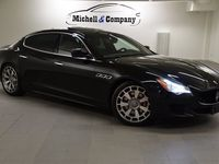 begagnad Maserati Quattroporte DIESEL AUT NERO MAX UTR 275HK