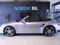 begagnad Porsche 997 Turbo CAB Manuell Mil: 3829