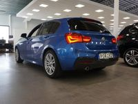 begagnad BMW 118 d M-Sport Automat Tonade Rutor Metallic