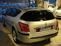 begagnad Peugeot 407 2,2 SW Panorama, automat, drag Kombi 2006