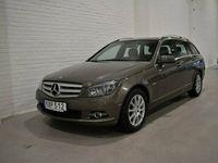 begagnad Mercedes C200 T CDI NYSERVAD|DRAG