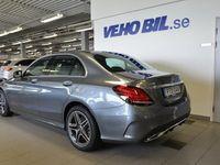 begagnad Mercedes C200 4Matic, AMG Line, Backkamera, Navigation