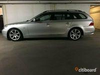 begagnad BMW 525 i Touring Pannorama Navi DvD Automat Xenon Skinn