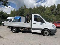 begagnad Mercedes Sprinter 315 CDI Flak/KRAN/Drag