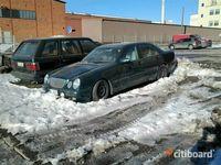 begagnad Mercedes E200 Sedan AC,3 ÄGARE