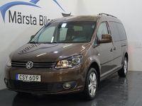 begagnad VW Caddy Maxi Life 2.0 EcoFuel 7-sits 109HK M-VÄRMARE