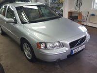 begagnad Volvo S60 D5 185HK 6VXL.Drag.Skinn.Välvårdad -06