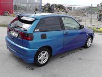begagnad Seat Ibiza 1,6 Stylad Toppskick! Påkostad!