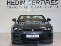 begagnad Chevrolet Camaro Cabriolet V8 6,2L AT8 453hk