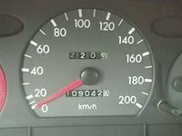 begagnad Hyundai Accent GLE '96