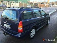 begagnad Opel Astra 4 nybesiktad, nyskattad