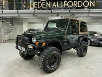 begagnad Jeep Wrangler 4.0 V6 4WD Auto 177hk Sahara Edition OFFROAD