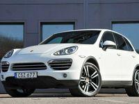 begagnad Porsche Cayenne 245hk Diesel Platinum Edt. Pano Navi