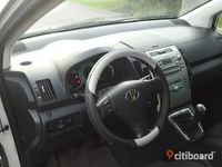 begagnad Toyota Corolla Verso 1,8 manuell, bensin,kamkedja, 7 sitsig 2006