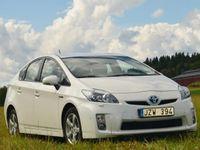 begagnad Toyota Prius Executive Hybrid skinn/navi -10