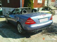 begagnad Mercedes SLK230 Kompressor -98 cab