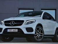 begagnad Mercedes GLE350 d 4M Coupé AMG H/K Night Panorama