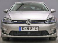 begagnad VW e-Golf 35.8 kWh Comfort S+V Hjul 136hk