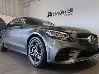 begagnad Mercedes C200 Kombi AMG-line Mildhybrid