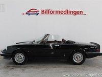 begagnad Alfa Romeo 2000 Spider AerodinamicaSvensksål