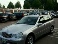 begagnad Mercedes C180 kompressor kombi, drag, Avantgarde. Bes/skattad