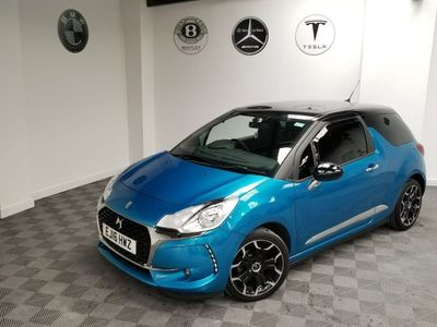 used DS Automobiles DS3 1.6 BlueHDi Elegance 3dr CAT S BARGAIN LOVELY CAR