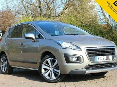 used Peugeot 3008 1.6 BLUE HDI S/S ALLURE 5d 120 BHP HEADS UP DISPLAY - 20 ROAD TAX!