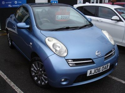 used Nissan Micra C+C 1.6 Pink 2dr