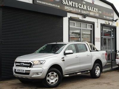 used Ford Ranger 3.2 TDCi Limited 2 Double Cab Pickup 4x4 4dr
