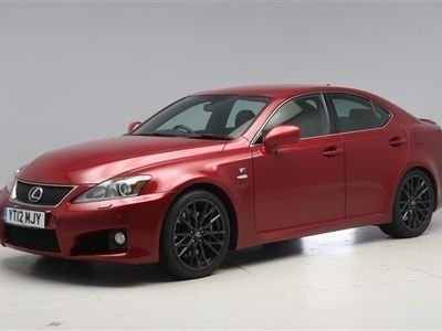 used Lexus IS-F 5.0 V84dr Auto DRIVER MEMORY SEAT - LEATHER - PADDLE SHIFT -