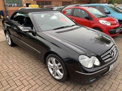 used Mercedes CLK200 CLK 1.8KOMPRESSOR AVANTGARDE 2d 181 BHP