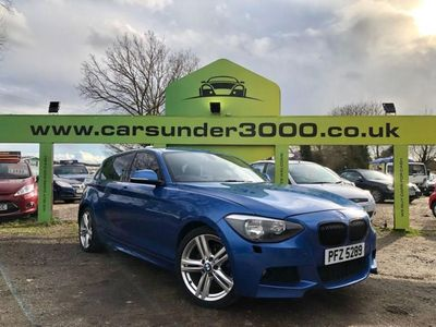 used BMW 118 1 SERIES 2.0 D M SPORT 5d 141 BHP DRIVES SUPERB / 3 MONT diesel hatchback