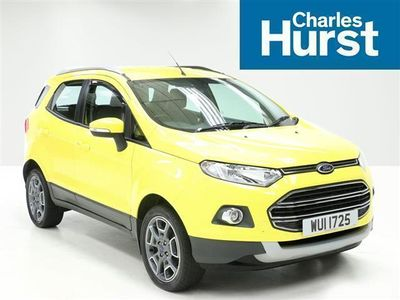 used Ford Ecosport 1.5 Tdci 95 Titanium 5Dr [17In]
