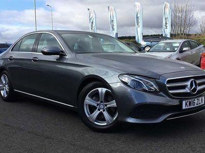used Mercedes E220 E ClassSE 4dr 9G-Tronic Saloon 2016