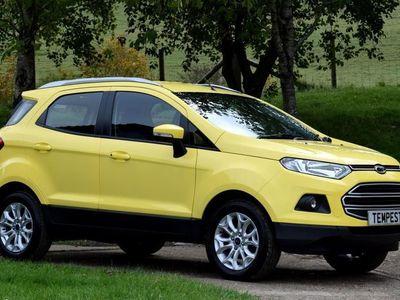 used Ford Ecosport Zetec