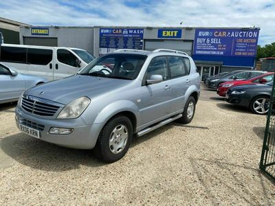 used Ssangyong Rexton 2.7 TD RX 270 SX 5dr (7 seat)