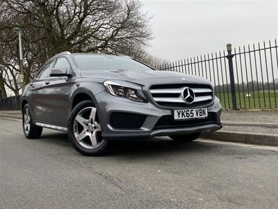 used Mercedes GLA220 Gla-Class 2.1CDI 4MATIC AMG LINE 5d AUTO 168 BHP REAR CAM, HALF LEATHER, AUTO